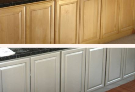 how much to paint cabinets