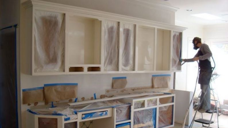 cost to paint cabinets professionally
