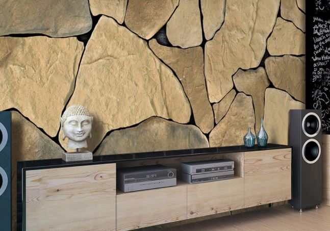stone wall paper