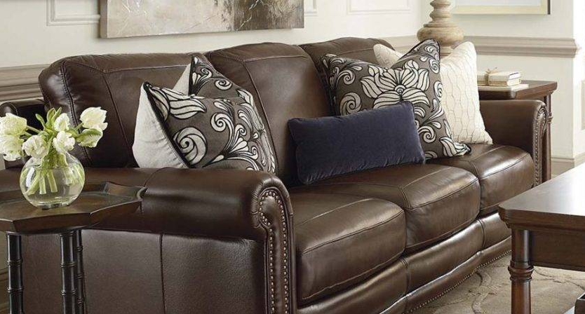 decorative pillows for brown leather couch