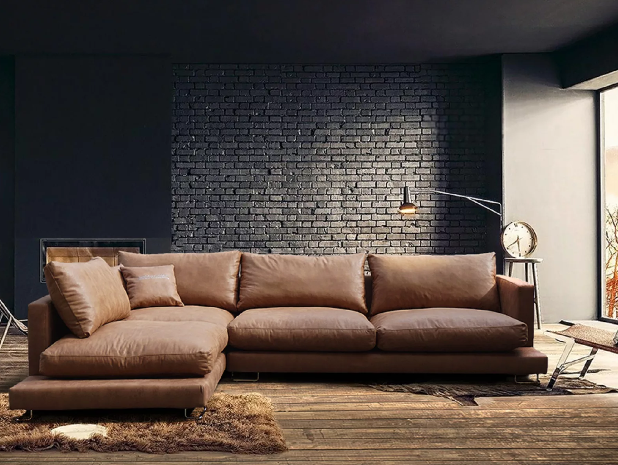 pillows for brown couch