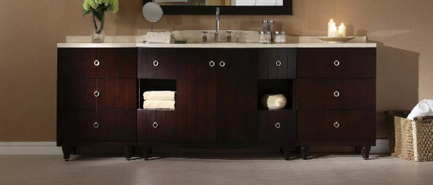 bathroom vanity height