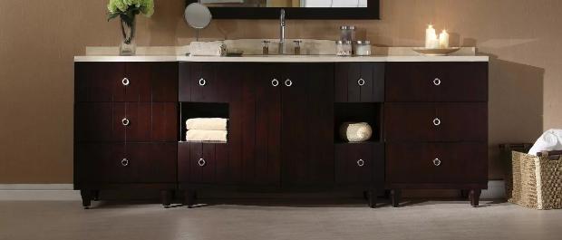 bathroom vanity height