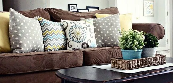 Matching Pillows For Brown Couch