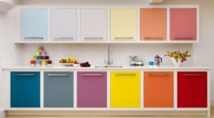 Picture how much does it cost to paint kitchen cabinets