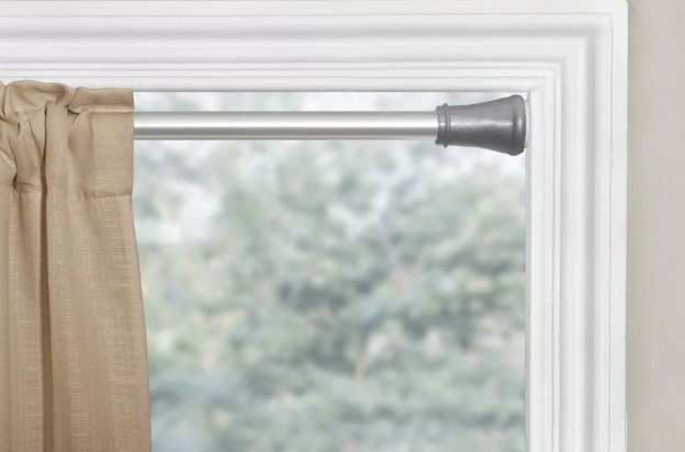 hang curtains without drilling