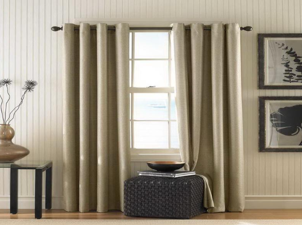 hang curtains without holes