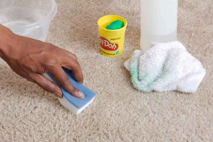 How to get slime out of carpet?