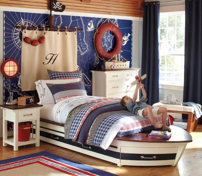 45 Best Nautical Theme Bedroom Ideas For Your Inner Sailor
