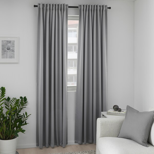 Curtains for medium grey walls