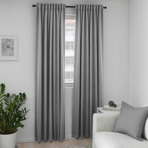 Curtains for medium grey walls