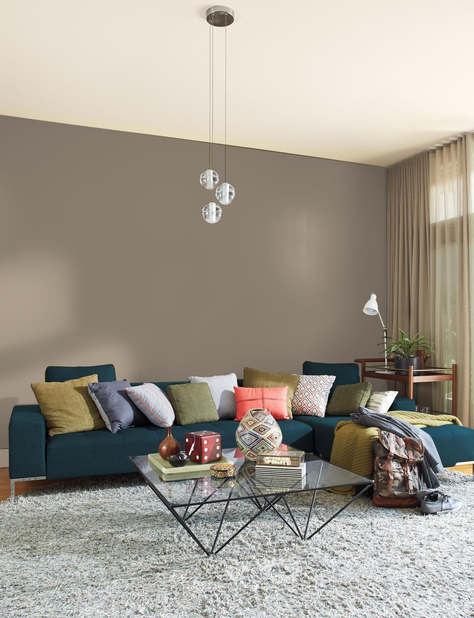 Curtains for grey walls