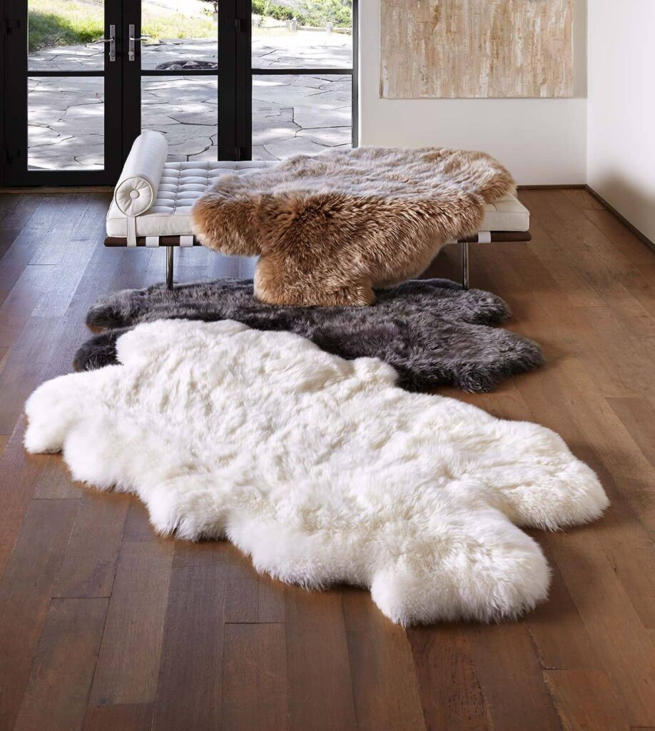 How to clean a sheepskin rug?