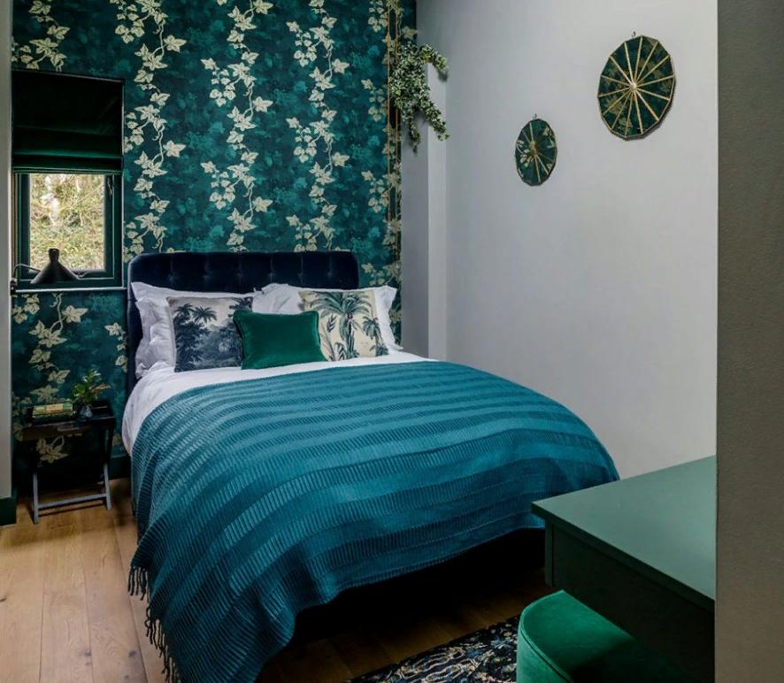 teal bedroom decor ideas