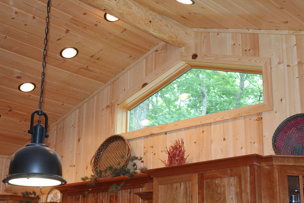 real wood paneling for walls