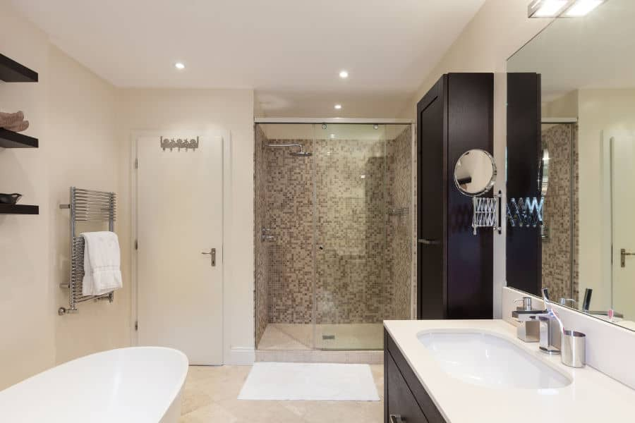 shower wall material