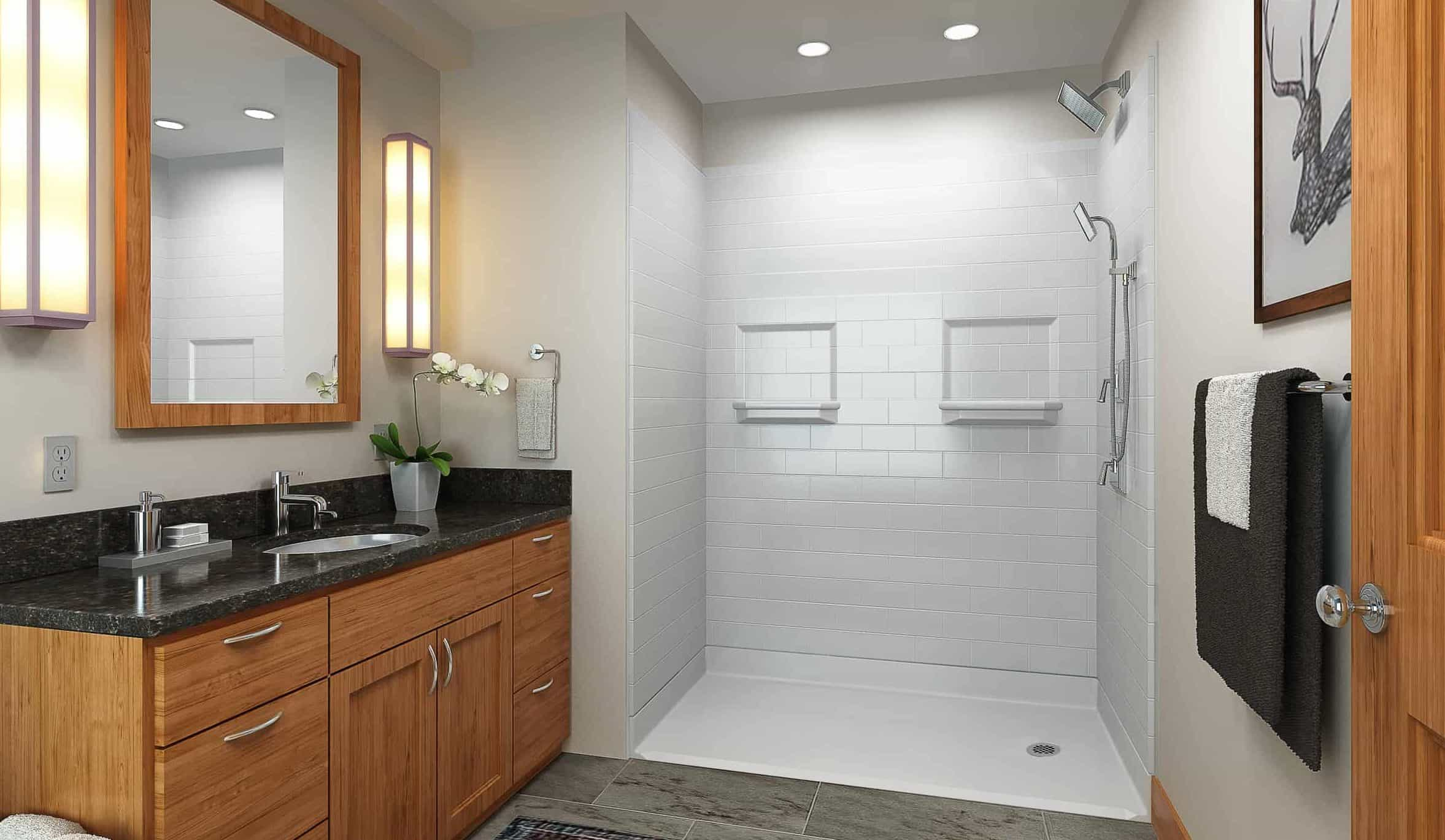 best stone for shower walls
