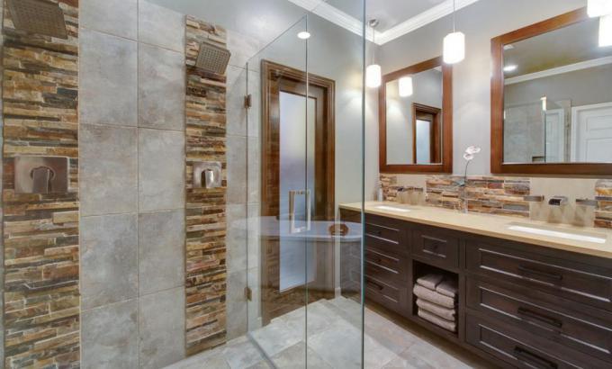 shower wall materials