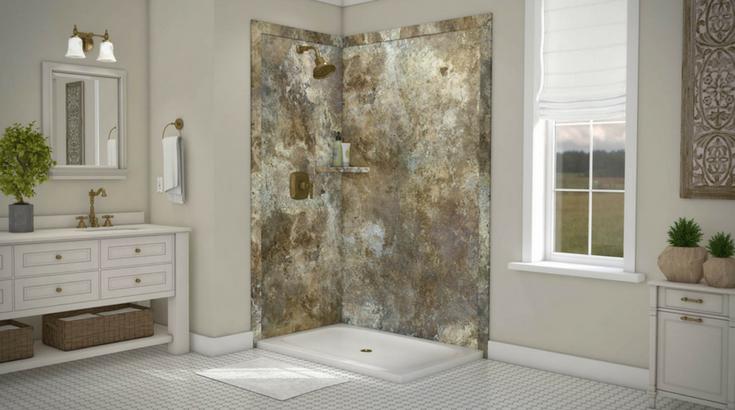 shower materials