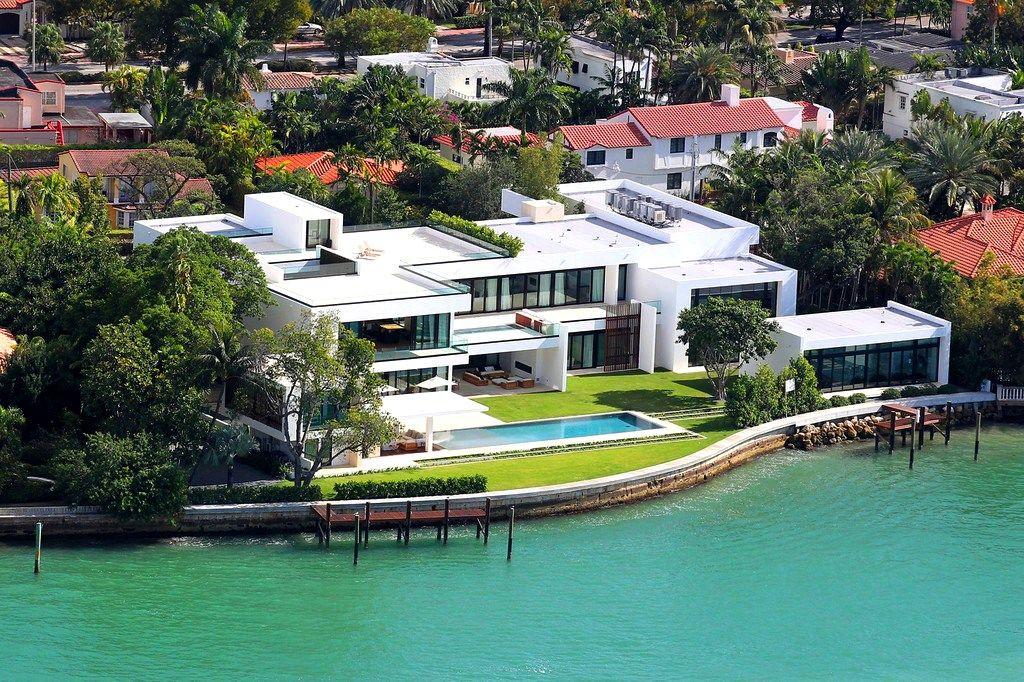 celebrity houses in miami