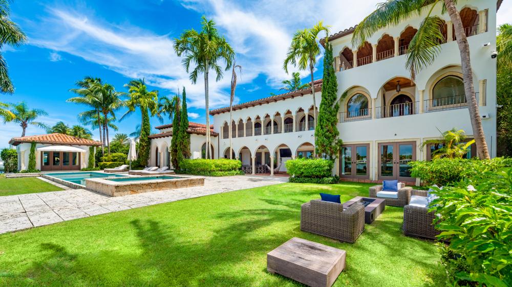 celebrities houses in miami