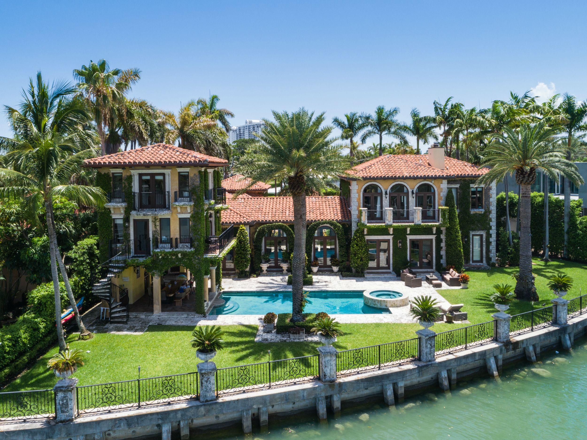miami beach celebrity homes