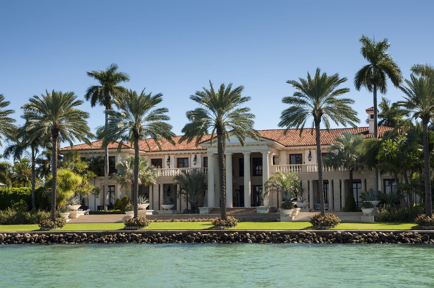 famous mansion in miami