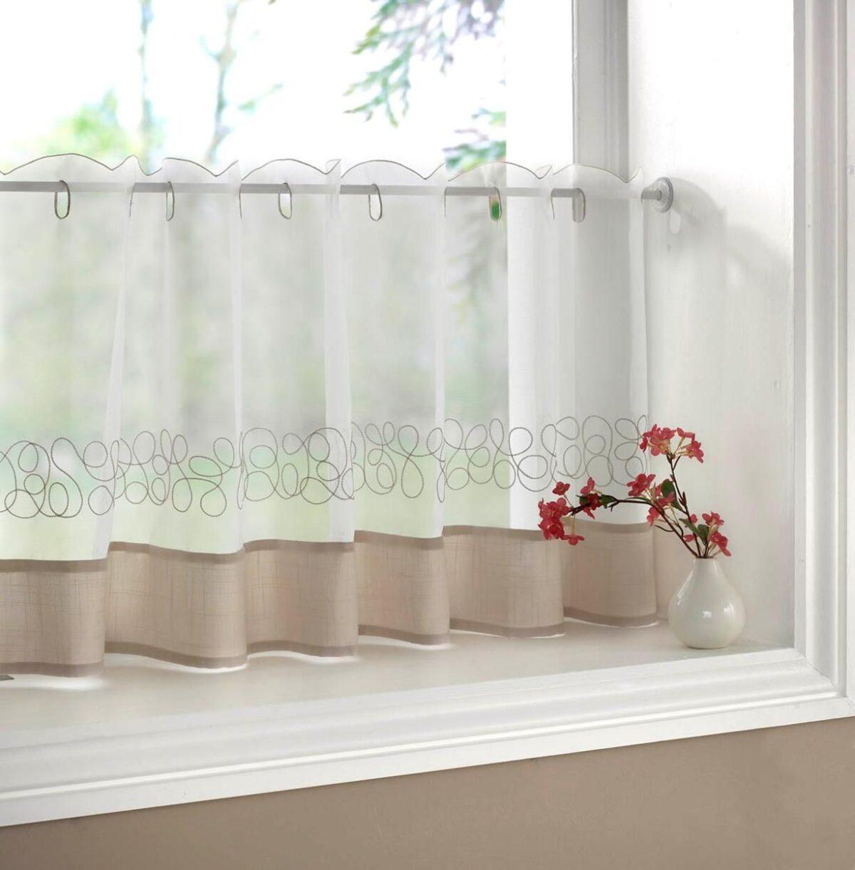 lower half window treatments