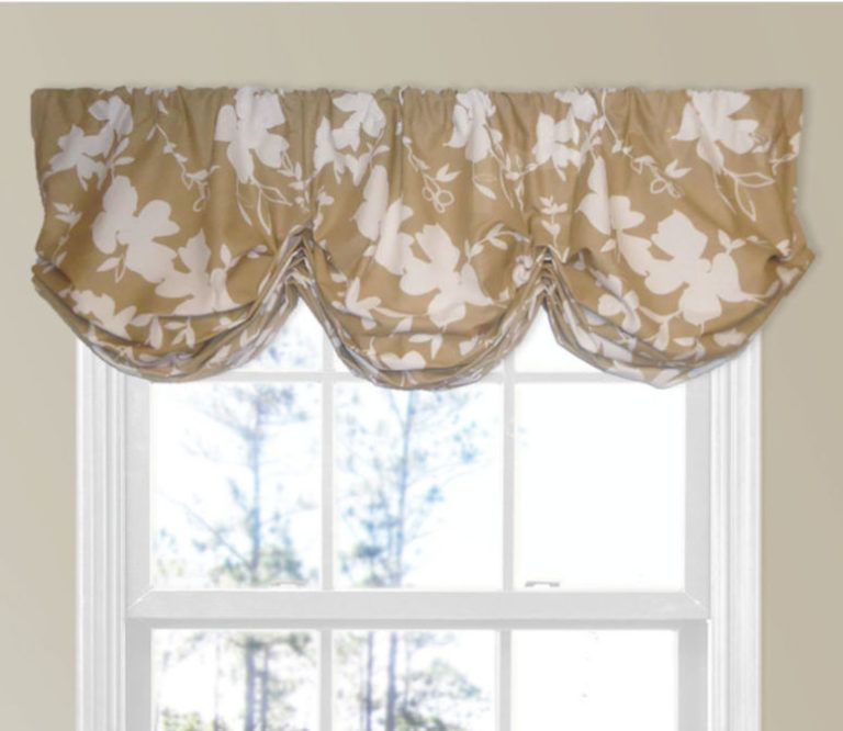kitchen door window curtain