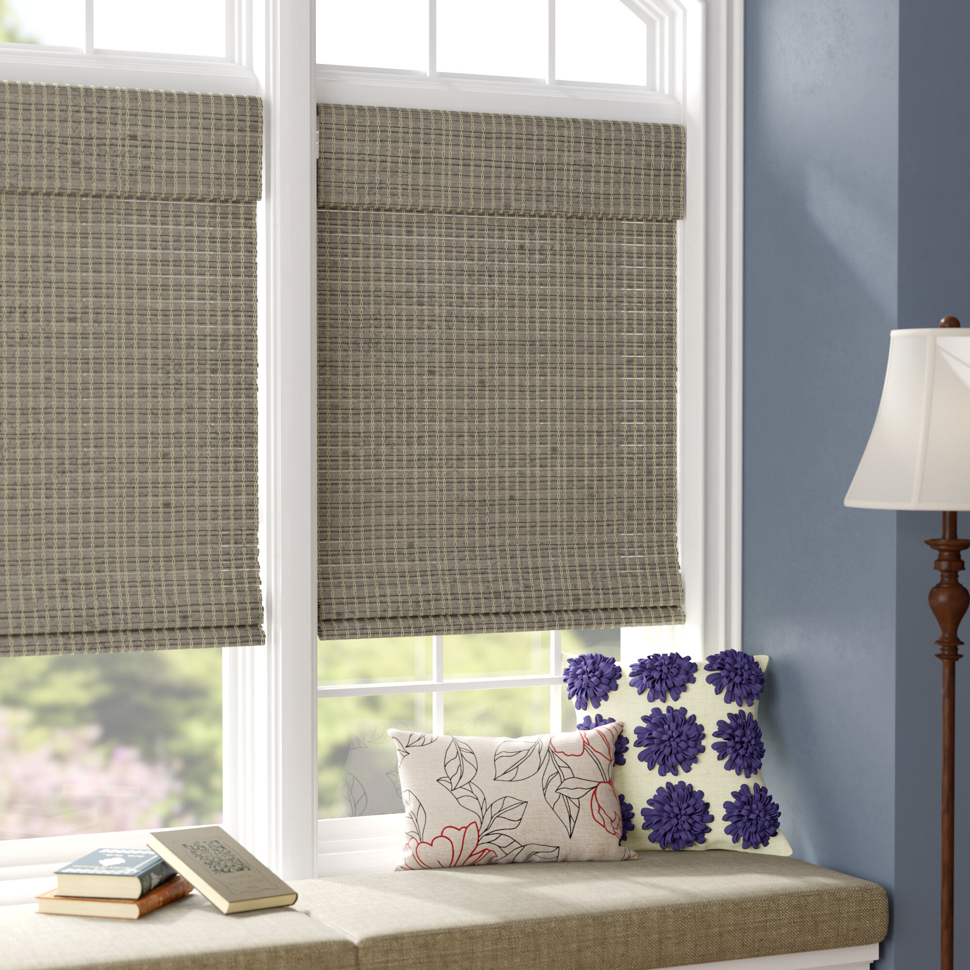half window curtains images