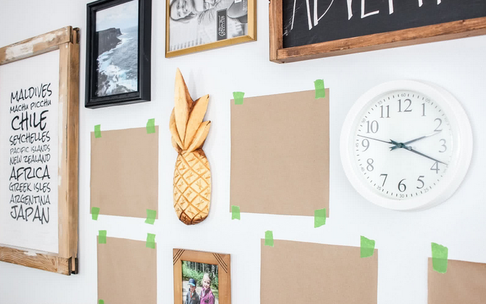 picture frames without hooks