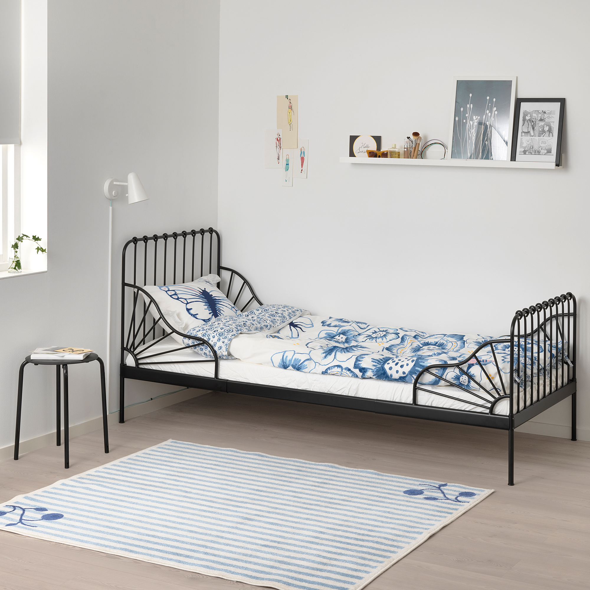 IKEA Minnen Extendable Beds