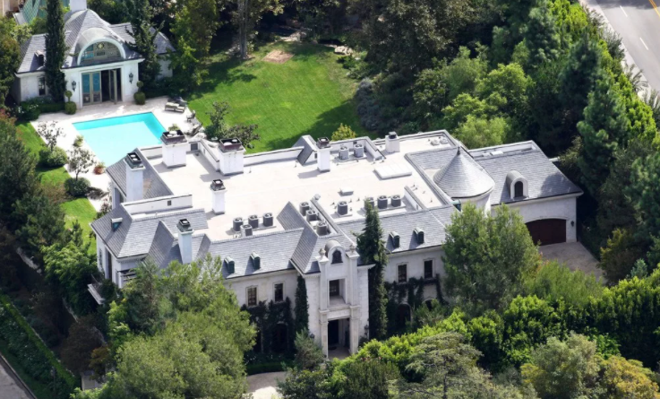 celebrity houses in beverly hills
