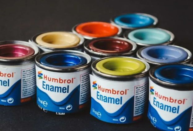 what is enamel paint