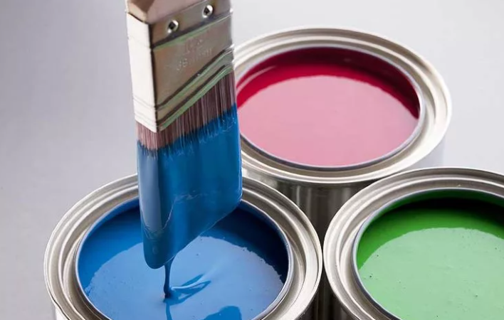what is latex enamel paint