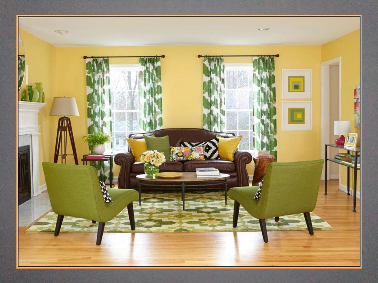 yellow walls