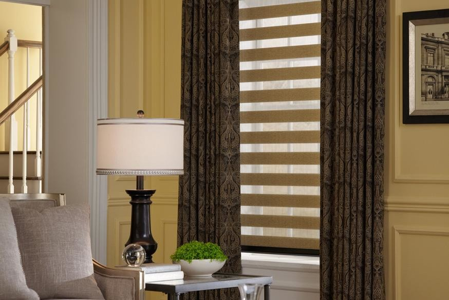 curtains for yellow walls