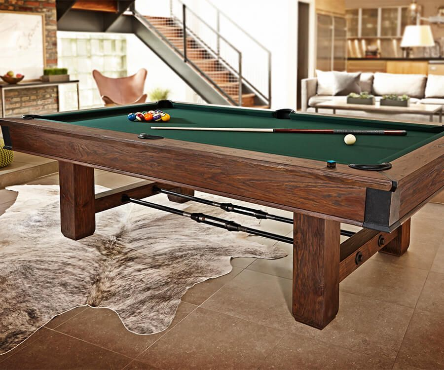 how to measure pool table