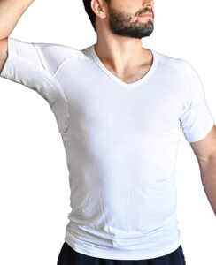 how to get deodorant stains out of black shirts